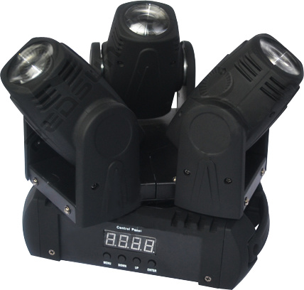 New Arrival 3X12W White/ RGBW 4in1 LED Moving Head Beam Light