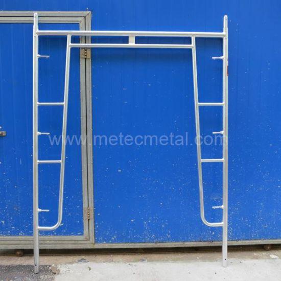 Hot DIP Galvanized Walk-Thru Frame Scaffold (Gate Frame)