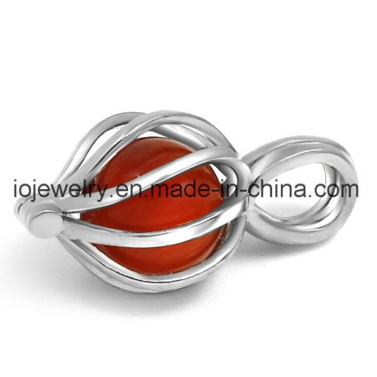 316 Stainless Steel Custom Pearl Cage Pendant