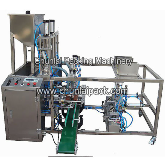 Automatic Stand up Bag Packaging Doypack Machine Pouch Filling Sealing Machine