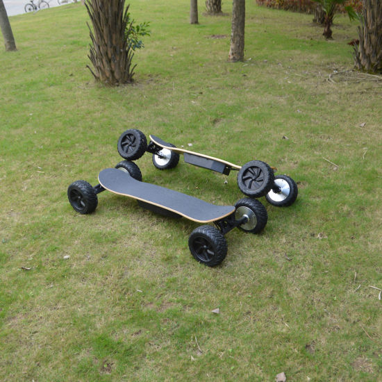 off Road Fat Tire Four Wheel 8.5-Inch Electric Skateboard pictures & photos