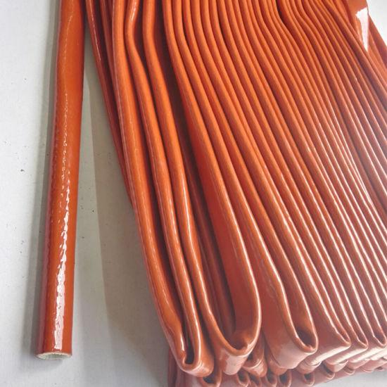 Fire Sleeve Hydraulic Rubber Hose Fiberglass Reinforcement