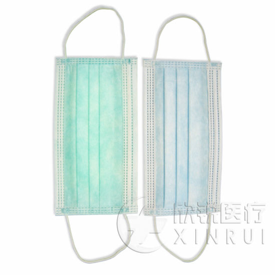 3-Ply Dust Mask Medical Face Mask with Ear Loop