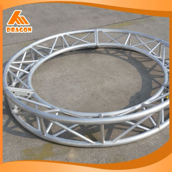 Exhibition Light D Model : China outdoor exhibition truss system aluminum round truss for