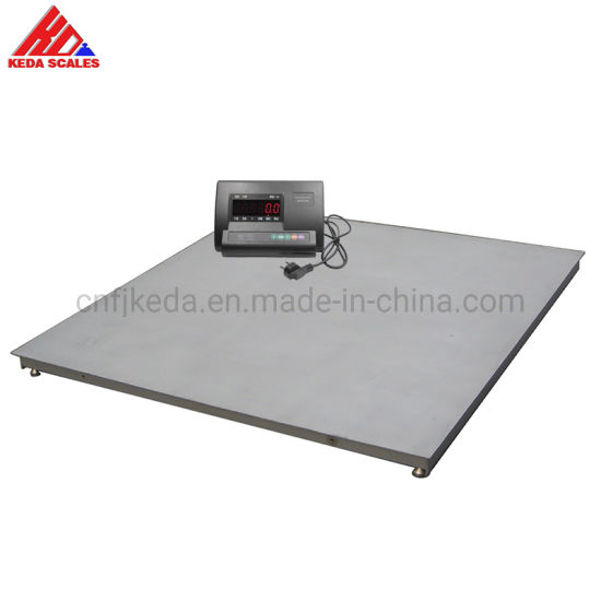 Factory Wholesale Electronic Digital Platform Weighing Floor Scale 1 Ton to 5 Ton
