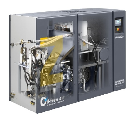 Atlas Copco Oil Free Rotary Air Compressor (ZT55VSD) pictures & photos