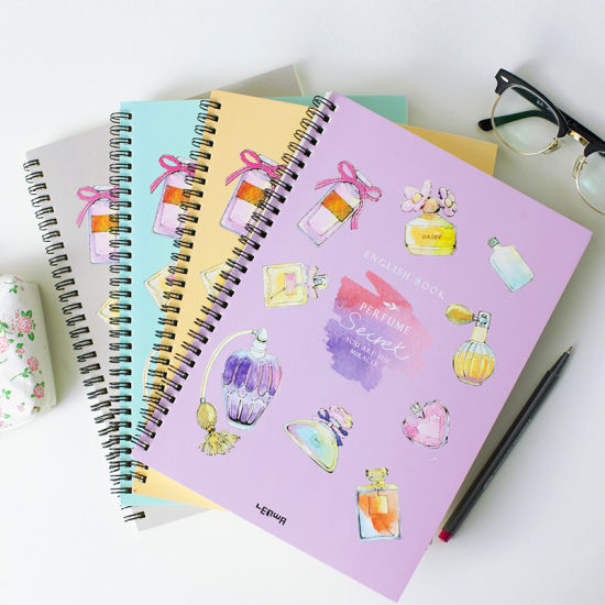 Custom Cartoon Hardcover Spiral Binding Notebook pictures & photos