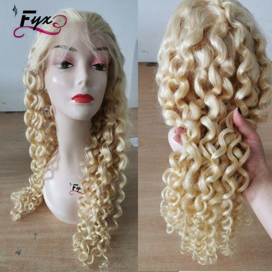 Brazilian Human Hair 613 Blonde Wig Natural Human Hair Lace Wig
