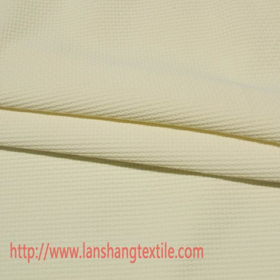 Chemical Fabric Dyed Jacquard Spandex Polyester Fabric for Dress Garment Home Textile pictures & photos