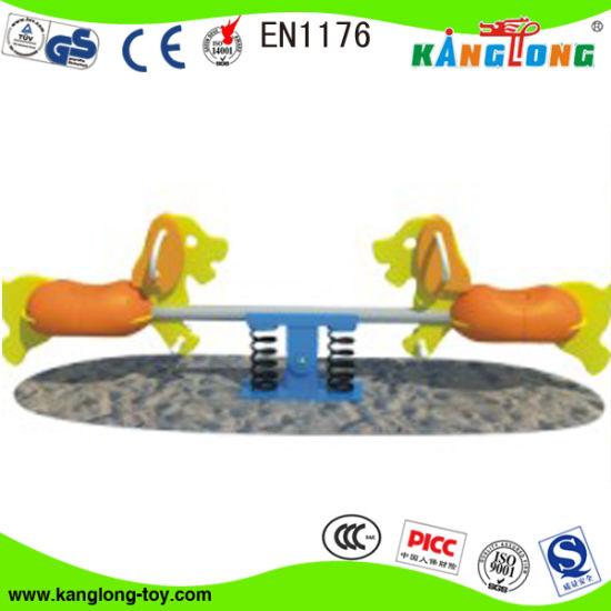 Children Outdoor and Indoor Teeterboard Playground