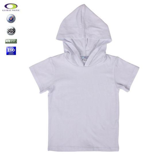 GenericMen Casual Short Sleeve Lightweight Pullover Hoodie Sweatshirt with Kanga Pocket