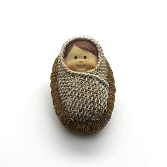 Wholesale Handcraft Resin Religious Baby Girl Figure