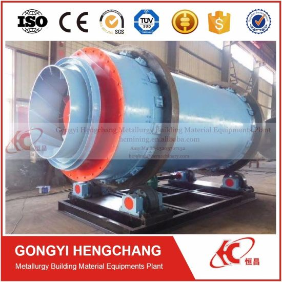 2017 Sludge Drying Machine Three Drum Dryer for Wet Particles pictures & photos
