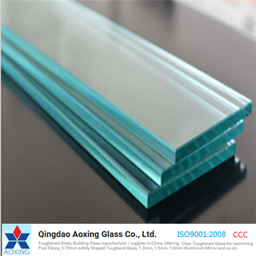 Clear/Sheet Toughened/Tempered Glass for Building/Door with Ce pictures & photos