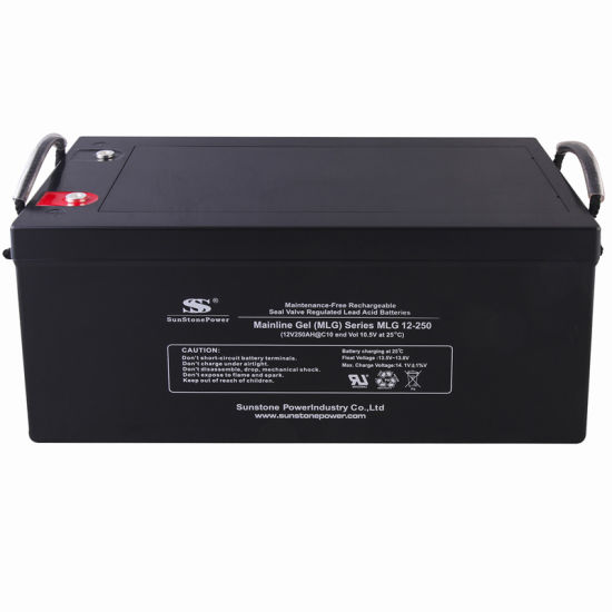 Factory Price Sealed Lead Acid Battery AGM Gel Backup Power for Solar System