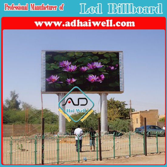 Full Color P10 LED Viedo Screen Advertising Outdoor Billboard LED Display Structure pictures & photos