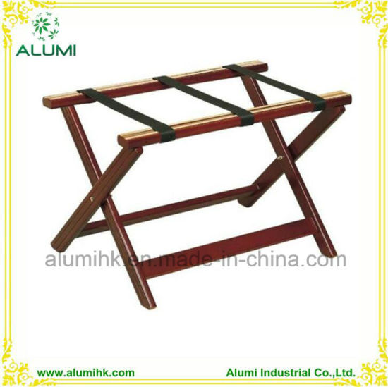 China Wooden Suitcase Rack, Foldable Wooden Luggage Rack for Hotel ...