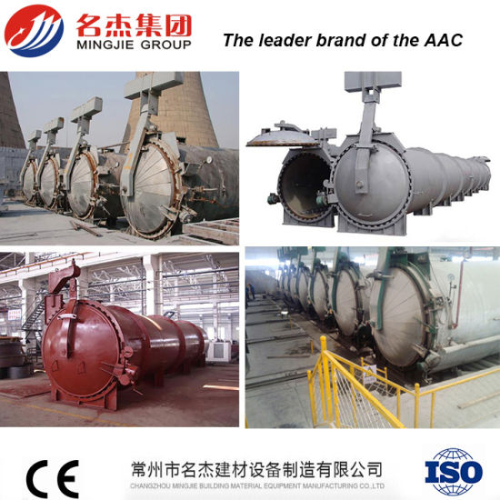 China High Temperature Steam Pressure AAC Autoclave - China AAC ...