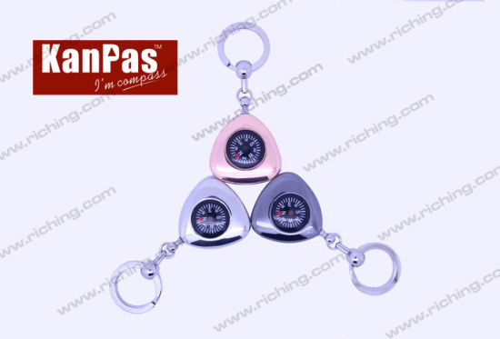 Highest Quality Compass Keyholder Real Compass Keyholder Not for Decoration #K-Z-4