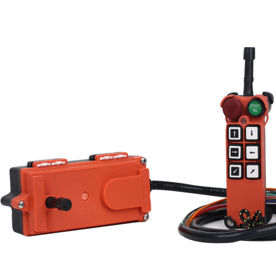 Interlock or Non-Interlock Industrial Radio Remote Control High Voltage up to 440V Crane Remote Controller F21-E1 pictures & photos