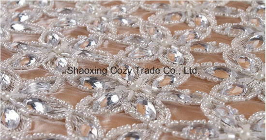 c7dcc0f5f0 High Quality Fashion Beads Crystal Embroidery Style for Dress Garment by  Handwork