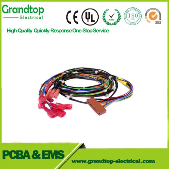China Custom Electrical Wire Harness, Jst Ach Connector ... on