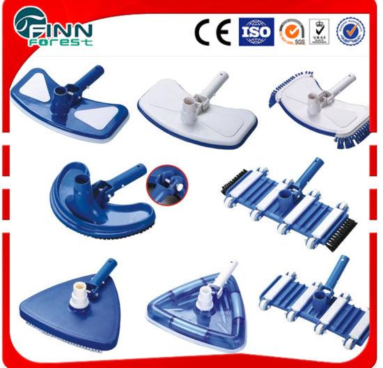 China Plastic Swimming Pool Clean Accessories Brush - China Swimming ...
