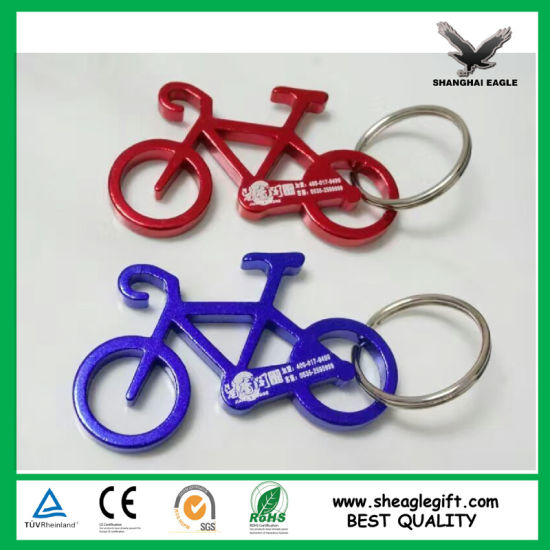 Customized Logo Promotional Bottle Opener Key Chain pictures & photos