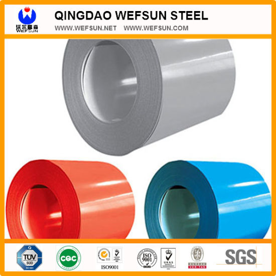 PPGI / PPGL Steel Products Prepainted Galvanized Steel Coil pictures & photos
