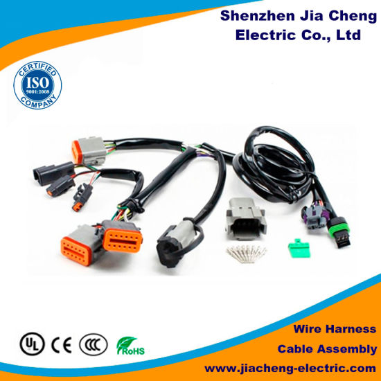 hot selling automobile wire harness for cable lvds assembly