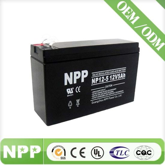 Good Quality UPS Back up Battery (NP12-5)