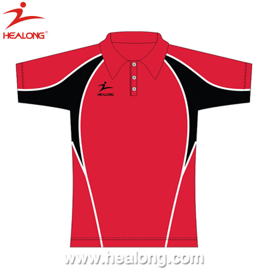 Full Dye Sublimation Men Slim Fit Polo Shirt Sports Wear pictures & photos