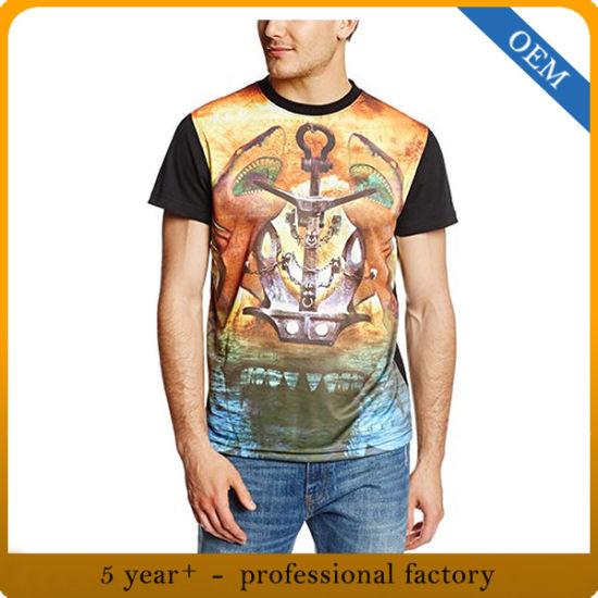China Factory Men T Shirt Design