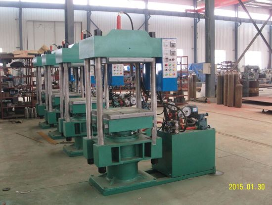Hydraulic Press Rubber Plate Vulcanizing Press Machine pictures & photos