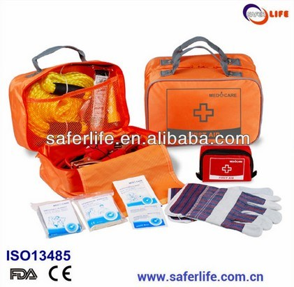 Auto Emergency First Aid Nylon Kit Car Aid Kit Travel Kit