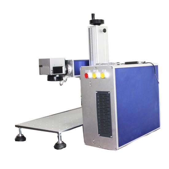 Chuke Free Software Mini Metal CNC Fiber Laser Marking Machine Small  Engraving Machine