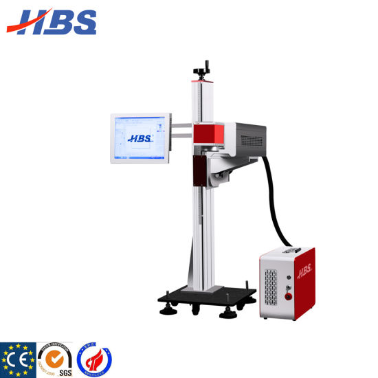 CO2 Laser Marking Machine for Batch Code and Expiry Date Factory Price