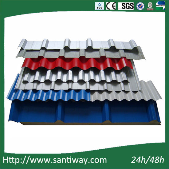 Customized Steel Sheet Color Coated Roofing Tile