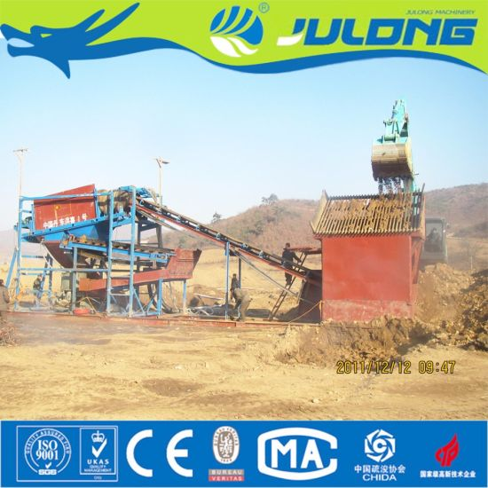 Gold Mining Equipment - After Many Years Production Practice