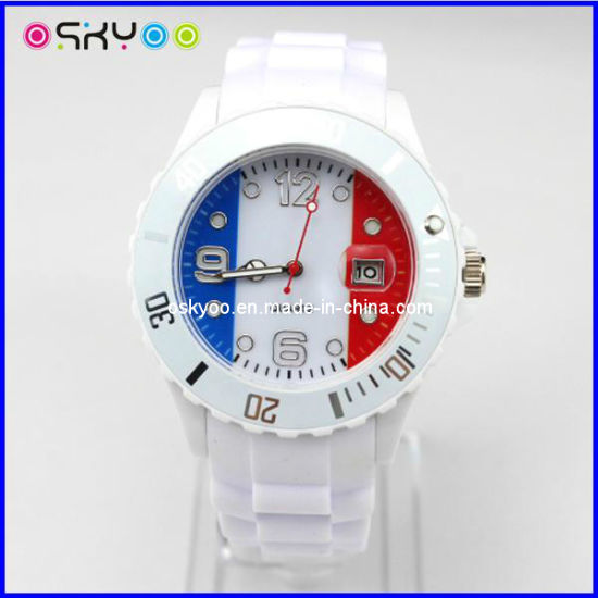 France National Flag Sports Brand Watches (P5900) pictures & photos