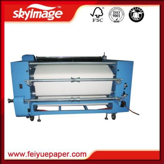 420*1700mm Rotary Heat Press Calendar for High Speed Sublimation Printing