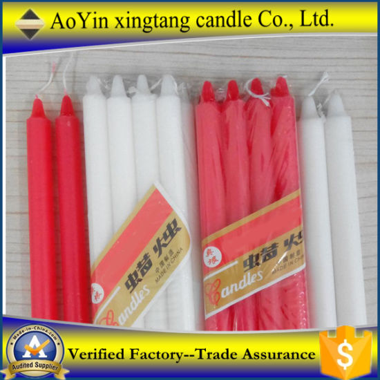Bright White Candles From China