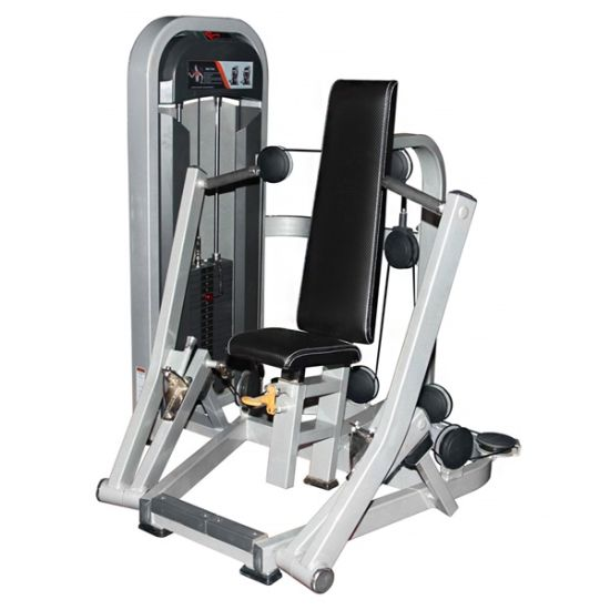 Body Building Equipment/Outdoor Fitness Exercise Machine Seated Incline Chest Press pictures & photos