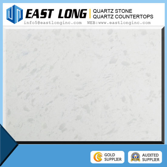 White Color Quartz Stone Slabs Artificial Quartz Countertops pictures & photos