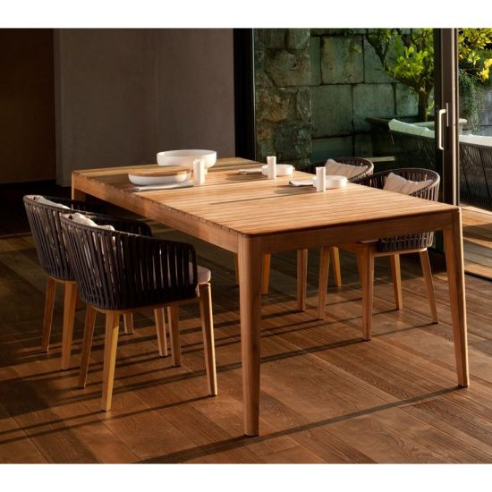 Woodeen Outdoor Furniture Garden Dining Set Table and Chair
