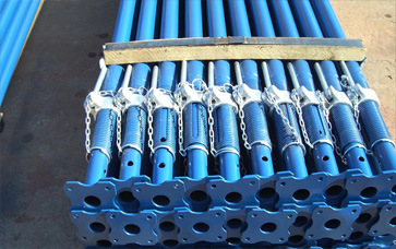 Painting or Galvanizing Steel Prop for Construction Use