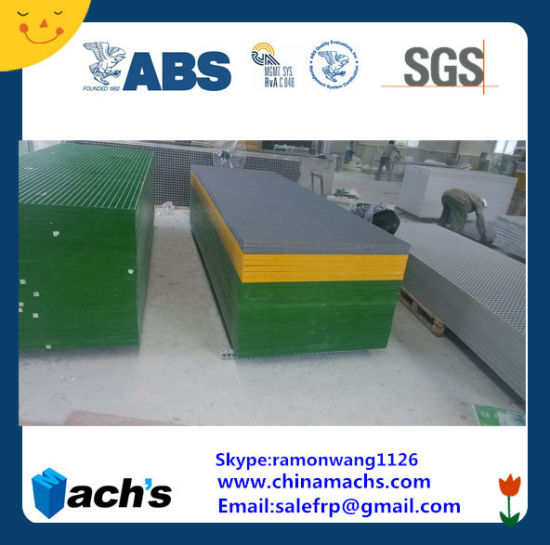 GRP Grating: Mesh: 19X19 H; 38, Passed ABS Cer and SGS Report pictures & photos