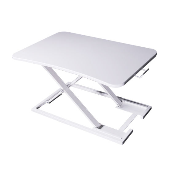 Pneumatic Height Adjustable Standing Desk Riser