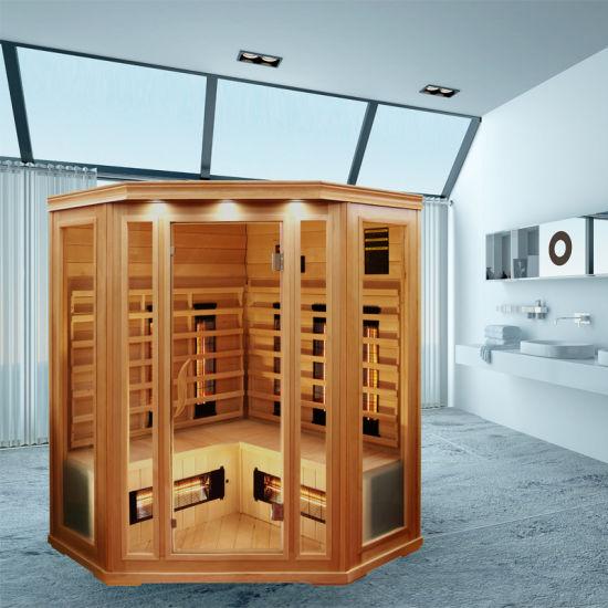 Big Fir Cabin Made of Canada Hemlock with Far Infrared Heater