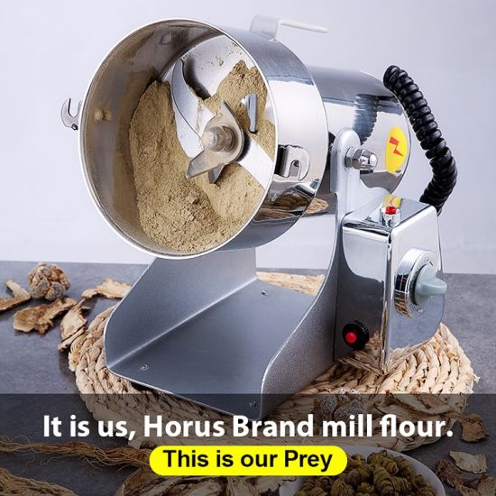 Industrial Coffee Grinder Machine/Electric Corn Mill/Commercial Maize Milling Machine